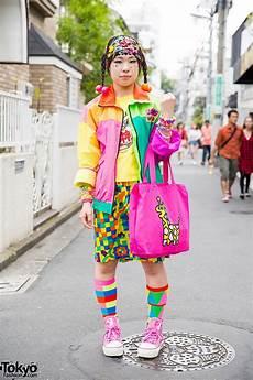colorful harajuku decora street style w 6 dokidoki jams world kinji