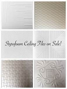 Cover Drop Ceiling Panels With Textured Wallpaper And