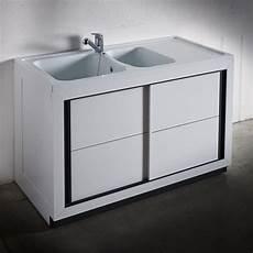 meuble cuisine évier composite normandie 1200 x 600 mm boutique pro carea