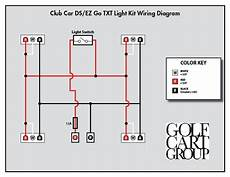 club car light wiring diagram 36v electric golf cart