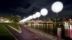 ghosts of the berlin wall 8 000 glowing orbs span 10 miles urbanist