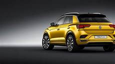 Vw T Roc Gets Racy In Frankfurt With New R Line Trim