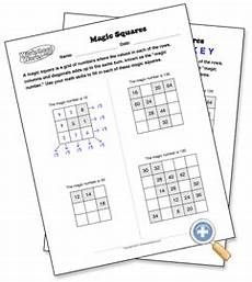 free magic squares puzzle maker worksheetworks com magic squares math magic squares math