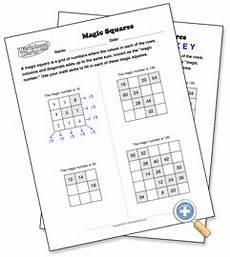 free magic squares puzzle maker worksheetworks com teaching math pinterest puzzle maker