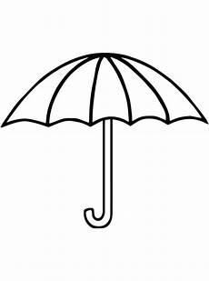 Gratis Malvorlagen Regenschirm Craft N De Malvorlage Regenschirm Einfacher Regenschirm