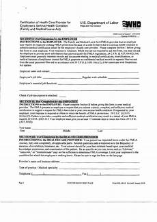 form wh 380 e certification of health care provider for employee s serious health condition