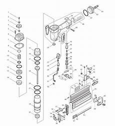 buy makita af505n replacement tool parts makita af505n nailer parts diagram