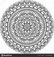 Malvorlagen Bilder Mandala Abbildung Mandala Zum Ausmalen Stockvektor 169 Tamsamtam