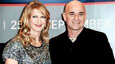 Andre Agassi And His Steffi Graf