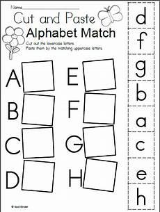 free spring alphabet worksheet madebyteachers