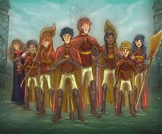 gryffindor quidditch team the harry potter lexicon