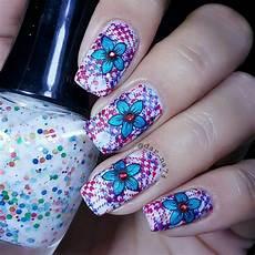 plaidnails doublesting nailart plaid nails nail