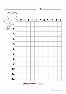 7 free esl multiplication worksheets