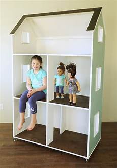 ag doll house plans ana white three story american girl or 18 quot dollhouse