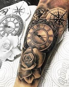 uhr unterarm pin by sorin rhv on idei tatuaje sleeve tattoos forearm