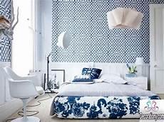 tapete blau schlafzimmer 20 splendor blue bedrooms decorating ideas decoration y