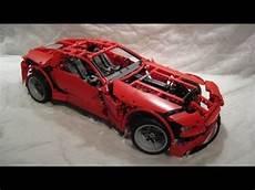 m4x s creations building lego technic 8070 car
