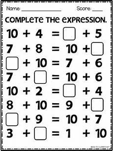 addition expressions worksheets 8847 equal expression worksheets addition practice 1st grade tpt
