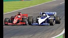 F1 2018 Vs Brabham F1 1984 Monza