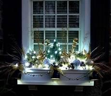 weihnachtsdeko basteln mit lichterketten haus und garten