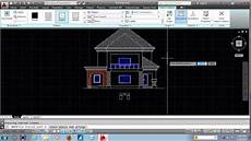 autocad house plan tutorial autocad tutorial house design elevation youtube