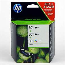 3 x hp 301 drucker patrone officejet 2620 deskjet 1510