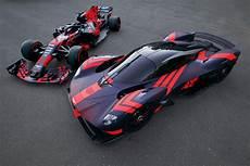 Aston Martin Valkyrie Joins Bull Formula 1 Racing Car