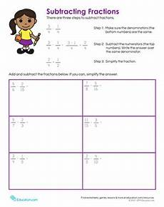 5th grade fractions worksheets free printables