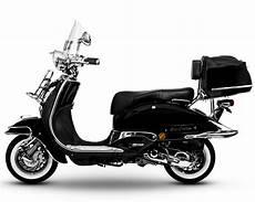 Retro Roller Motorroller Easycruiser Schwarz 50 Real