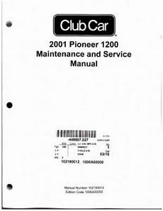 what is the best auto repair manual 2001 subaru outback instrument cluster 2001 club car pioneer 1200 maintenance and service manual