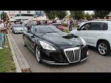 the one and only 8 million dollar maybach exelero driving