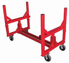 collapsible construction cart for supporting pipe bundles