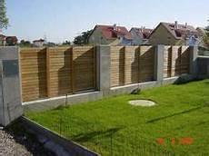 Granit Holz Edelstahl Zaun For The Garden Fence Steel
