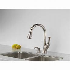 delta savile kitchen faucet delta savile stainless 1 handle pull kitchen faucet reviews dandk organizer