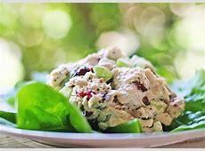lemon tarragon chicken salad image