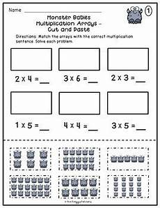 multiplication worksheets with arrays 4662 multiplication arrays worksheets multiplication worksheets tpt