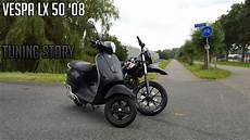 tuning story vespa lx 50 08 dutch50riders