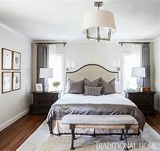 White And Gray Bedroom Ideas by Get The Look Overscale Lighting Traditional Home