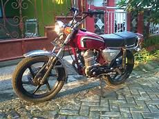 Modifikasi Mesin Gl 100 by Modifikasi Mesin Honda Gl 100 Pangeran Modifikasi