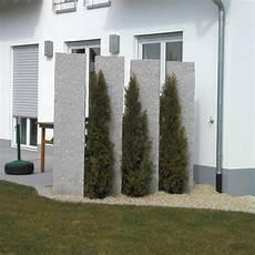 Sichtschutz Aus Stein Elemente - bildergebnis f 252 r sichtschutz garten granit lanscaping