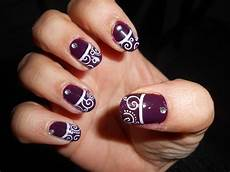 cute nails beautiful swirl nails 2 designs