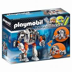 Playmobil Malvorlagen Top Agents Playmobil 9251 T E C S Robot With Transformer