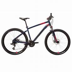 mountainbike 27 5 zoll rockrider st 520 damen blau rosa