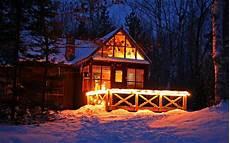 Malvorlage Haus Mit Schnee Hintergrundbilder Beleuchtung Wald Nacht Schnee