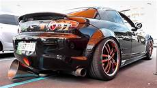 mazda rx8 tuning mazda rx8 sound tuned with 3 exhaust pipes