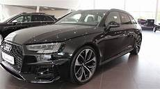 audi exclusive 2018 audi rs4 450ps myth black with green stitching interior youtube
