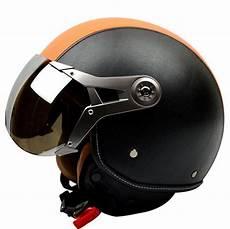 new motorcycle helmet retro 3 4 helmet vintage scooter