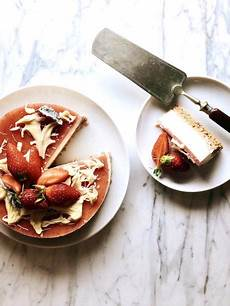 kuchen ohne gerate l entremet mit erdbeeren kuchen ganz ohne backen