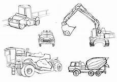 coloring pages of construction vehicles 16461 раскраски строительная техника