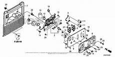 Wiring Diagram For Honda Generator by Honda Eb2800i A Generator Usa Vin Eaaa 1000001 Parts